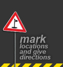 Mark locations